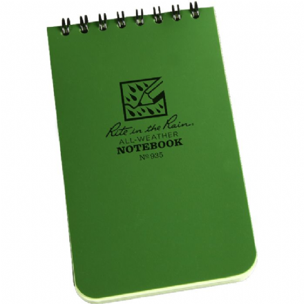 Rite in the Rain Waterproof Notepad 3x5 - 50 sheets